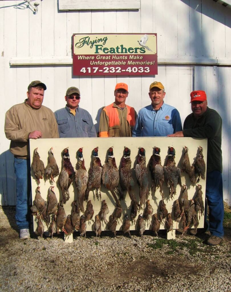 Flying Feathers - Hunting Group 3